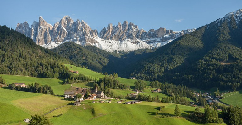 Dolomiti, territorio dalla bellezza incontaminata
