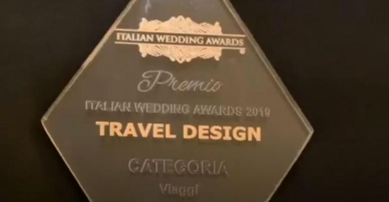 Primo premio all'Italian Wedding Awards