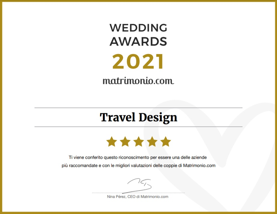 travel design premio matrimonio.com 2020